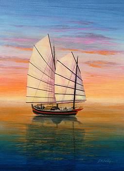 Peaceful Waters by J W Kelly