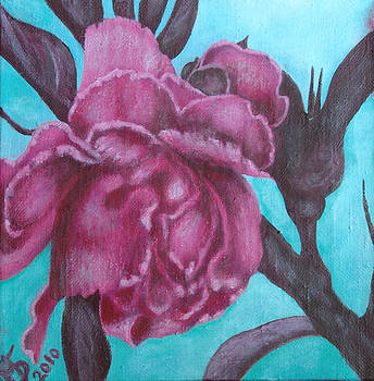 Peach Blossom by Mariya Bobrovskaya