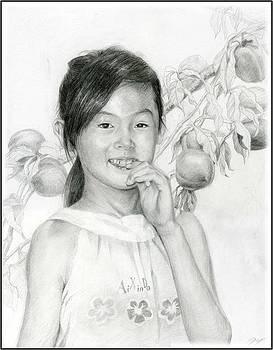 Peach Garden by Ping Yan