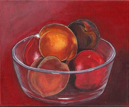 Peaches And Nectarines by Vera Lysenko