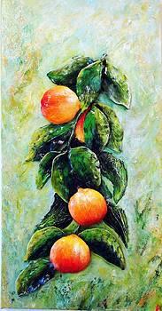 Peachy day by Raya Finkelson