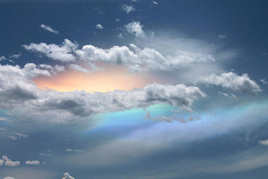 Cathie Douglas - Peachy Sky