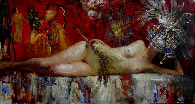 Peackok's dream by Kartashov Andrey