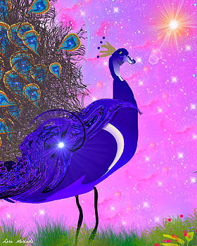 Peacock Beauty by Lora Mercado