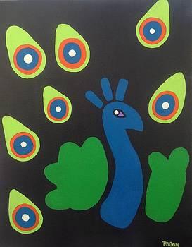 Peacock by Eddie Pagan