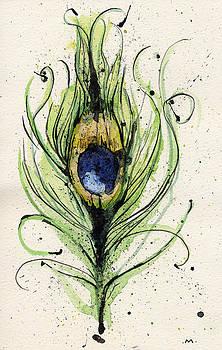 Mark M  Mellon - peacock feather