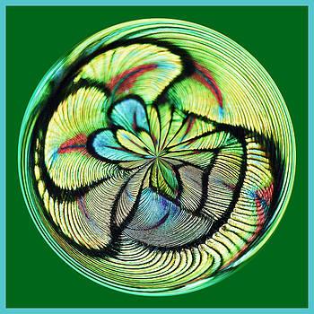 Paulette Thomas - Peacock Feather Orb
