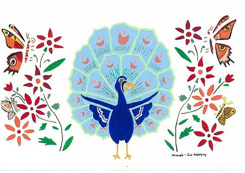 Artists With Autism Inc - Peacock George