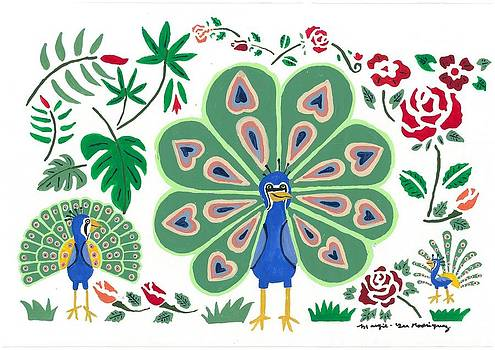 Artists With Autism Inc - Peacock Henry