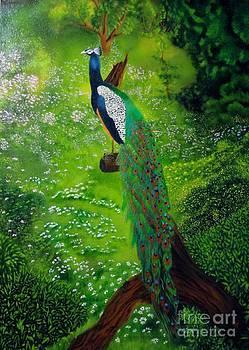 Peacock Paradise by Carol Avants