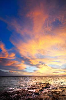 Jenny Rainbow - Peacock Sunset. Maldives