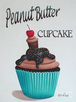 Peanut Butter Cupcake by Catherine Holman