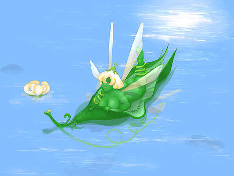 Peapod Pixie by Kathi Day