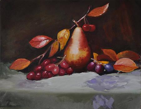 Pear in Fall by John Moody
