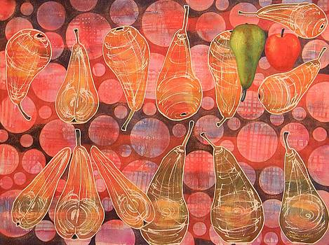 Pear Sphere by Adel Nemeth