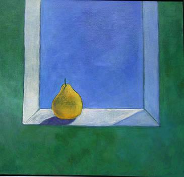Victoria Sheridan - Back lit pear