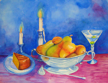 Pearis by Candlelight  by Jane Ricker