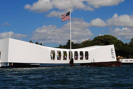 Pearl Harbour Memorial by Liher Huang