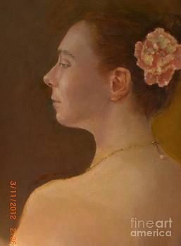 Pearl Necklace by Kathleen Hoekstra