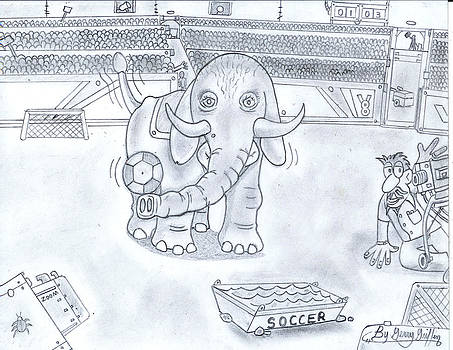 Pearl The Magnificent Elephant. by Gerald Griffin