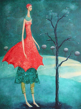 Pearl Tree by Erika Husselmann