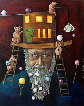 Leah Saulnier The Painting Maniac - Pearls For Swine