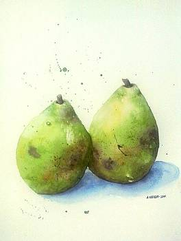 Pears  by Ally Keller