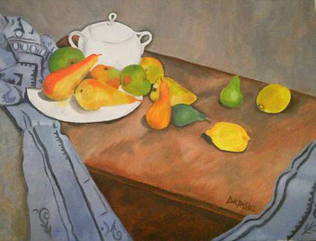 Pears And Apples by John Davis