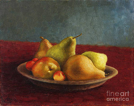 Pears and Cherries by Natalia Astankina