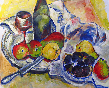 Pears and figs by Vladimir Kezerashvili