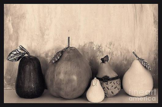 Pears and Pears by Marsha Heiken