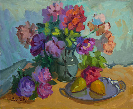 Diane McClary - Pears and Roses