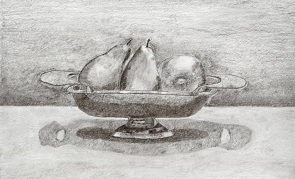 Pears by Carmela Cattuti