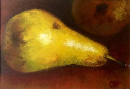 Pears by Cindy Plutnicki