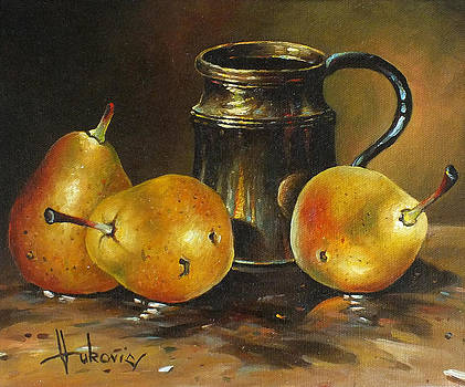 Pears by Dusan Vukovic