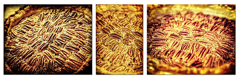 Pecan Pie Nostalgia Triptych by Lincoln Rogers by Lincoln Rogers