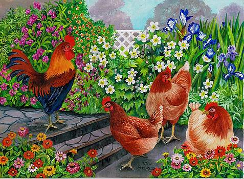 Pecking Order by Val Stokes