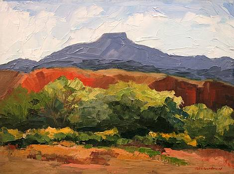 Pedernal From Ghost Ranch by Julia Grundmeier