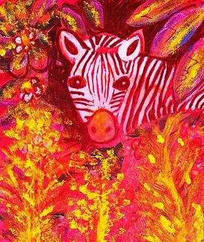 Anne-Elizabeth Whiteway - Peek-a-Boo Zebra II