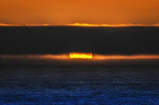 Peeking Sunset by Chris Malone