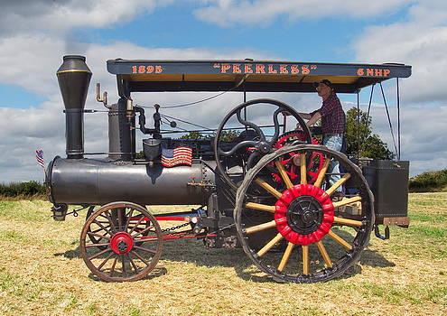 Paul Gulliver - Peerless Steam Traction engine