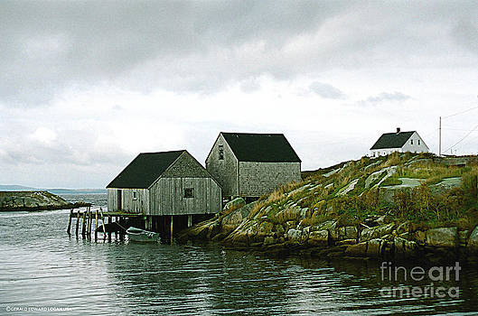 Peggy's Cove 03 Nova Scotia by Gerald MacLennon