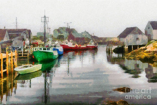 Peggy's Cove by doug hagadorn by Doug Hagadorn