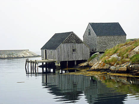 Peggy's Cove by Carl Sheffer