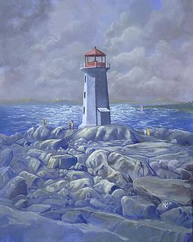 Peggy's Cove by Kent Nicklin