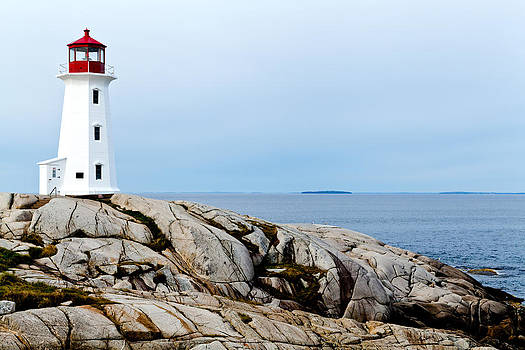 Peggy's Cove Light II by Dan Dooley