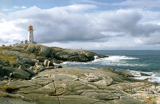 Peggy's Cove - Nova Scotia by Gerald MacLennon