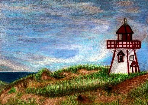 PEI Lighthouse by Jo Prevost