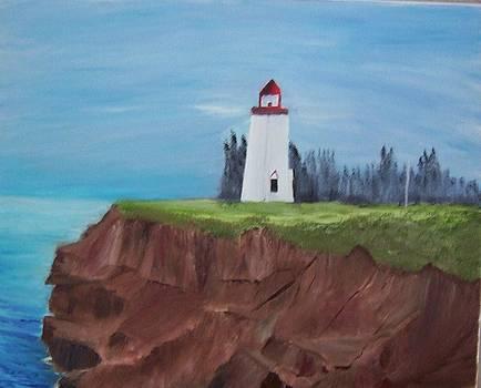 PEI Lighthouse by Tony  DeMerchant