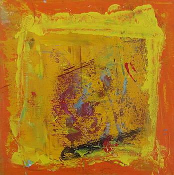 Peinture abstraite sans titre 1 by Francine Ethier